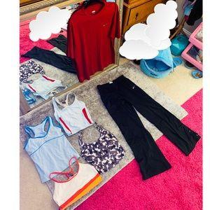 Nike Bra Tops Team Pants Shirt S M $300+